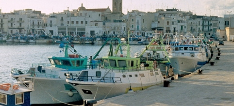 mola di bari porto